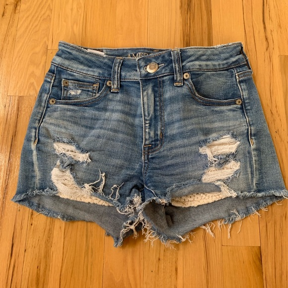American Eagle Outfitters Pants - American eagle denim shorts
